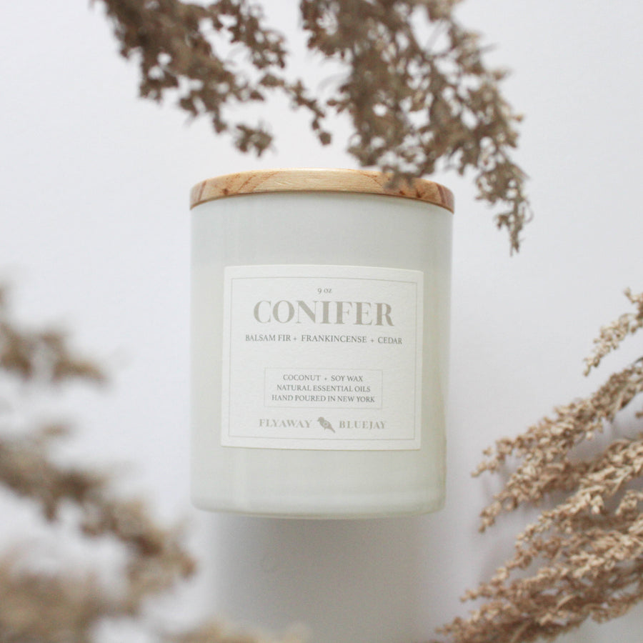 Conifer Essential Oil Candle
