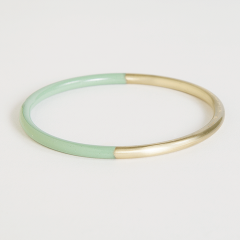 Mint Dipped Bracelet