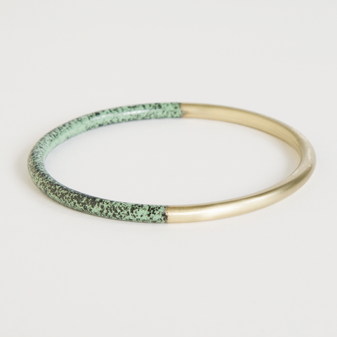 Mint Speckled Dipped Bracelet