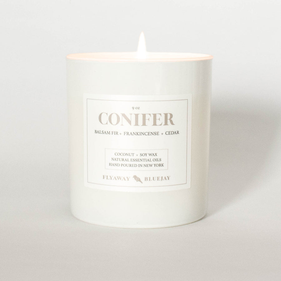 Conifer Natural Essential Oil Candle
