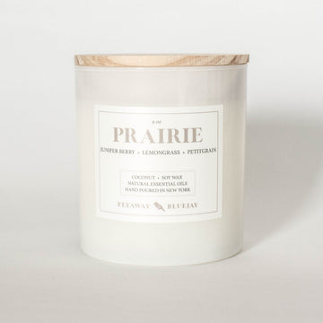 Prairie Handmade Soy Coconut Wax Essential Oil Candle