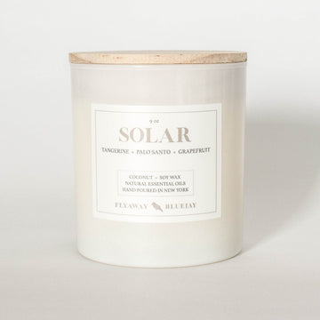 Solar Handmade Soy and Coconut Wax Essential Oil Candle