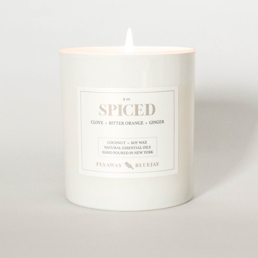 Spiced Handmade Soy and Coconut Wax Essential Oil Candle