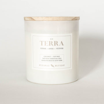 Terra Handmade Soy and Coconut Wax Essential Oil Candle
