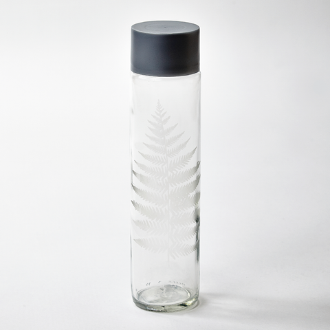 Etched Fern Bottle