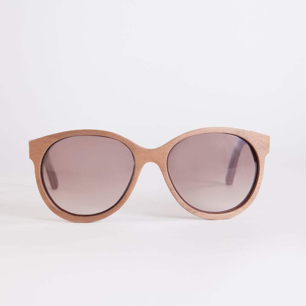 Madison Walnut Sunglasses