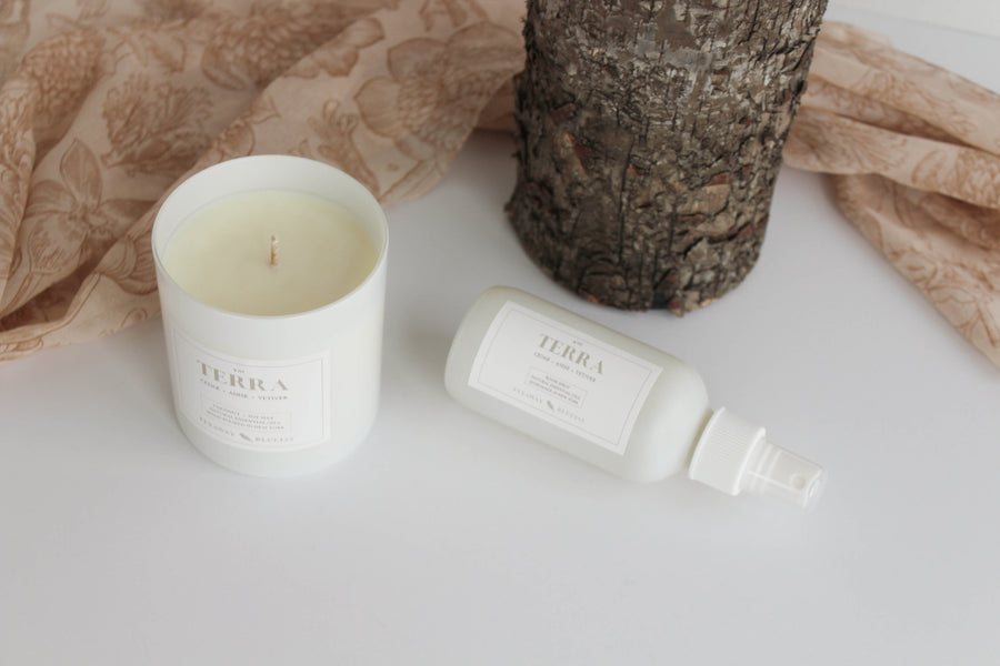 Terra Handmade Soy and Coconut Wax Candle