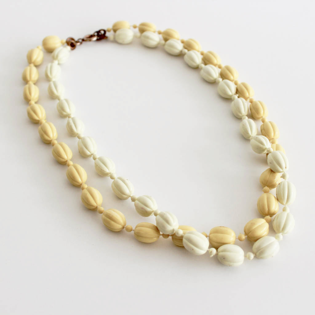 Vintage Double Strand Necklace