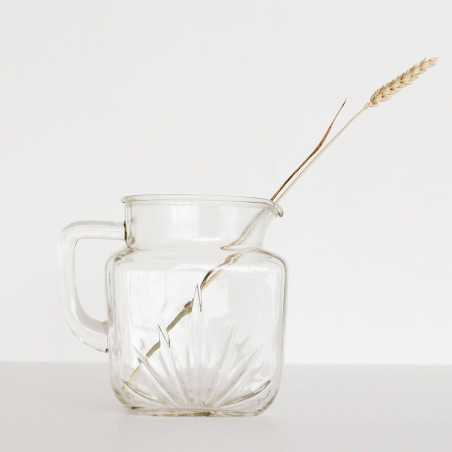 Vintage Starburst Pitcher