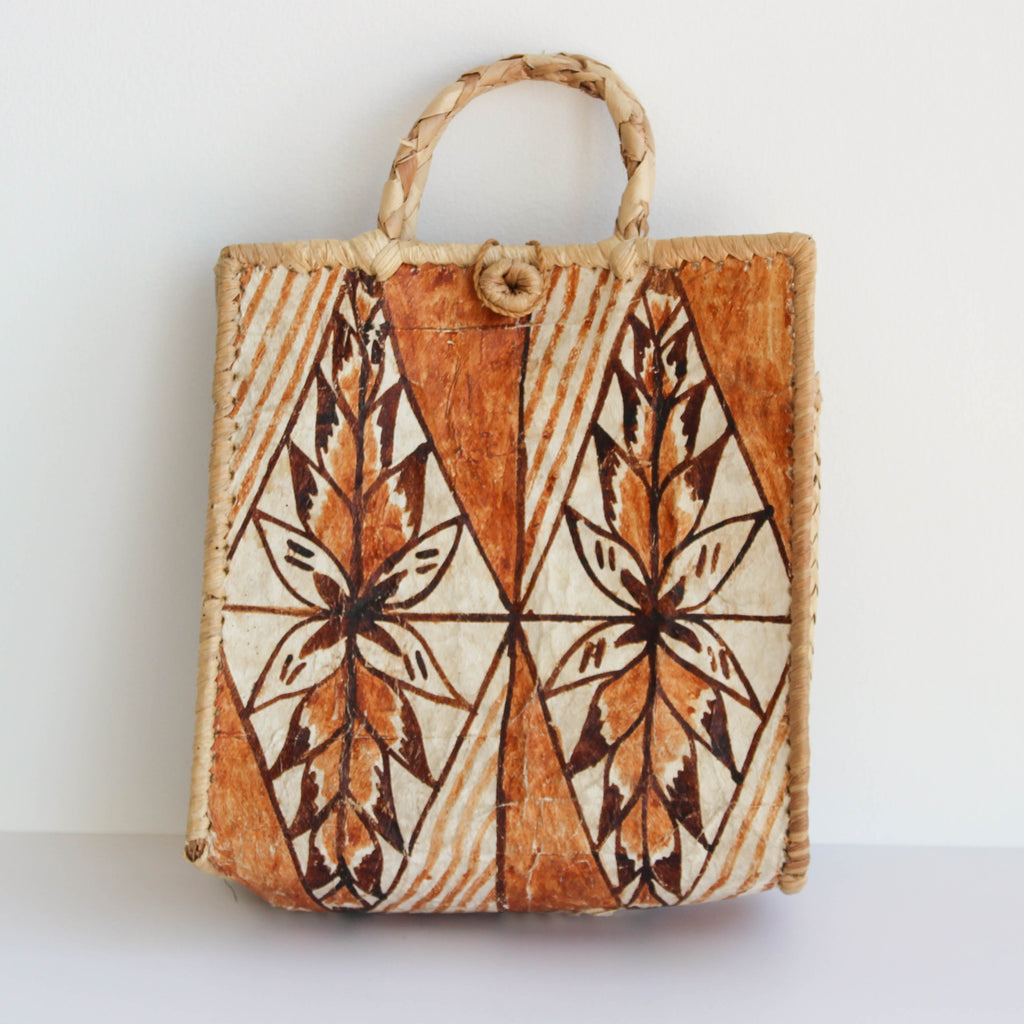 Vintage Hand Painted Bag