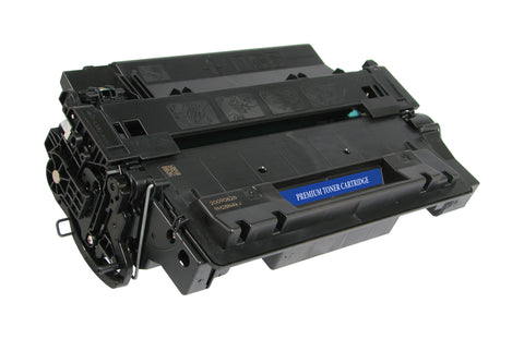 HP CE255A - Eco-Friendly Remanufactured Black Toner Cartridge