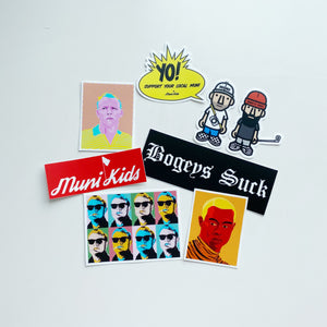 Muni Kids Stickers