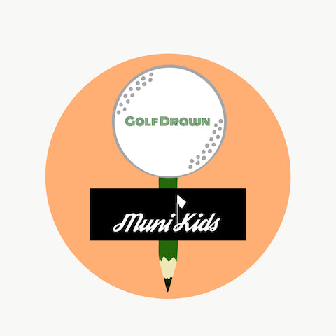 Muni Kids x Golf Drawn