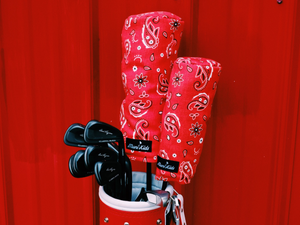 bandana golf head covers and golf accessories