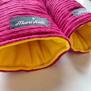 Magenta Wide Wale Corduroy Golf Headcovers