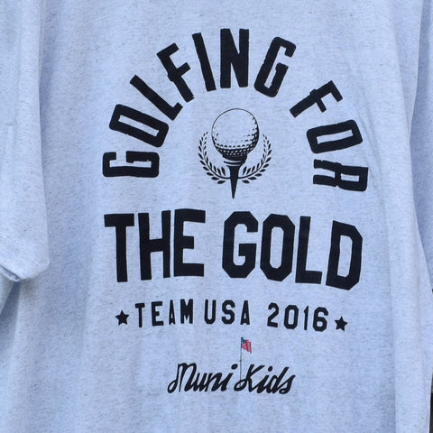 Golfing For The Gold Tee (Limited Edition) - Muni Kids®