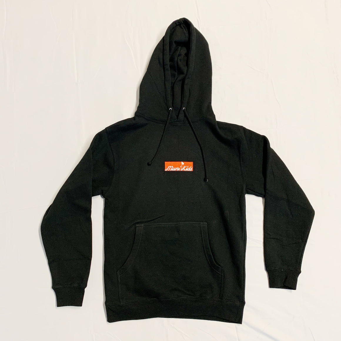 Bar Logo Hoodie (Black) :: Golf Sweatshirt | Muni Kids®