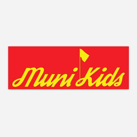 Muni Kids Logo Sticker - Muni Kids®
