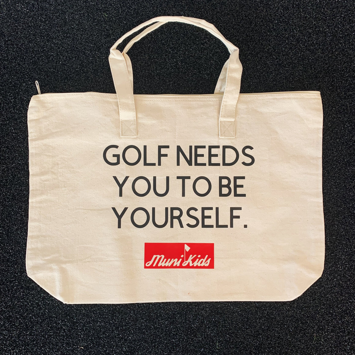 Be Yourself Tote :: Golf Accessory | Muni Kids®