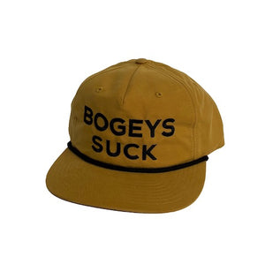 Bogeys Suck Rope Hat (Biscuit) | Muni Kids®