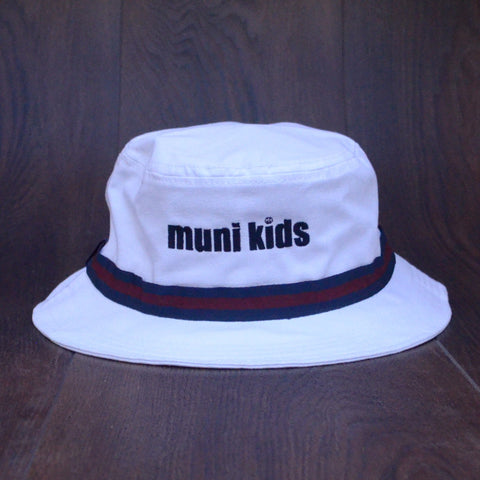 Bucket Hat (Navy/Maroon) - Muni Kids®