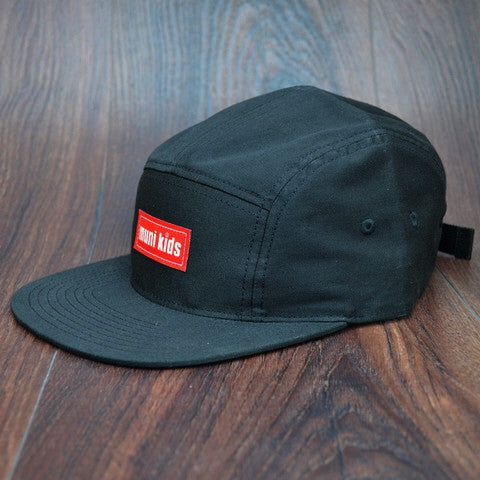 Classic 5-Panel (Black) - Muni Kids®