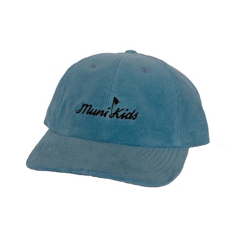 Muni Kids Corduroy Dad Hat (Air Blue) | Muni Kids®