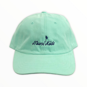 Muni Kids Dad Hat (Seafoam)