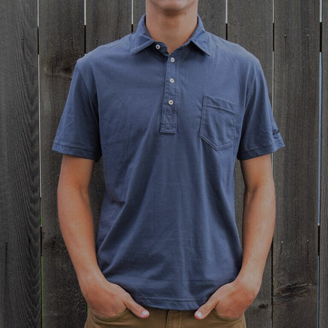Downtown Pocket Polo (Asphalt) - Muni Kids®