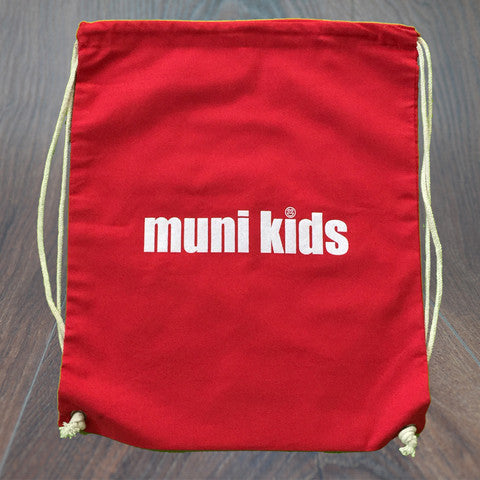 Drawstring Backpack - Muni Kids®