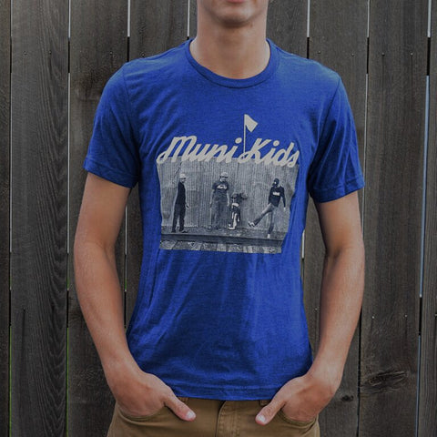 Entourage Tee (Navy) - Muni Kids®