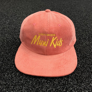 Everywhere Corduroy Strapback (Melon) | Muni Kids®