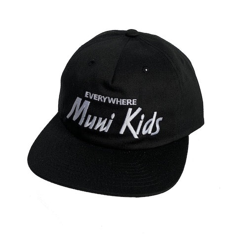Everywhere Strapback (Black) | Muni Kids®