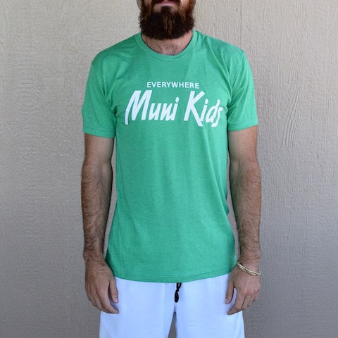 Everywhere Tee (Green) | Muni Kids®