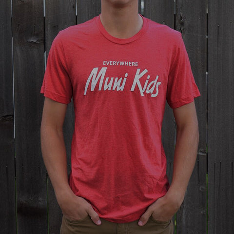 Everywhere Tee (Red) - Muni Kids®
