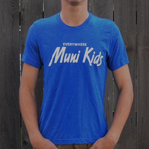 Everywhere Tee (Royal) - Muni Kids®