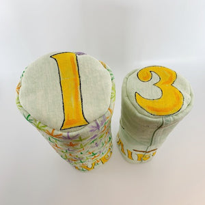 Fore20 Hand Painted Headcovers (1 SET) | Muni Kids®