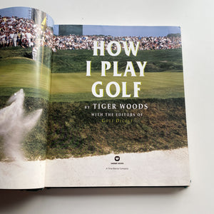 How I Play Golf Hand Painted Book #2 | Muni Kids®