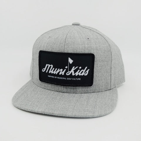 Inspired Snapback (Grey) | Muni Kids®