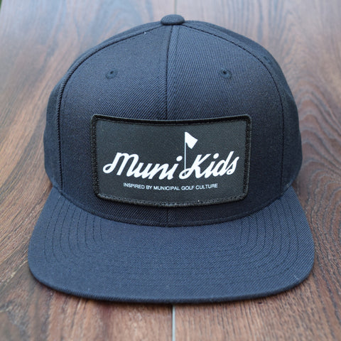 Inspired Snapback (Navy) - Muni Kids®
