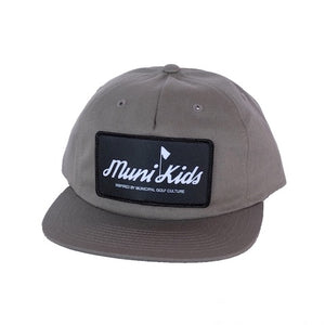 Inspired Golf  Strapback (Steel) | Muni Kids®