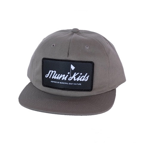 Inspired Strapback (Steel) - Muni Kids®