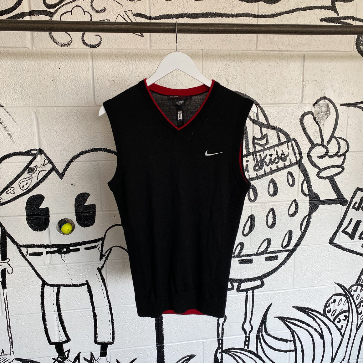 Nike Golf TW Collection Vintage Sweater Vest SMALL | Muni Kids®