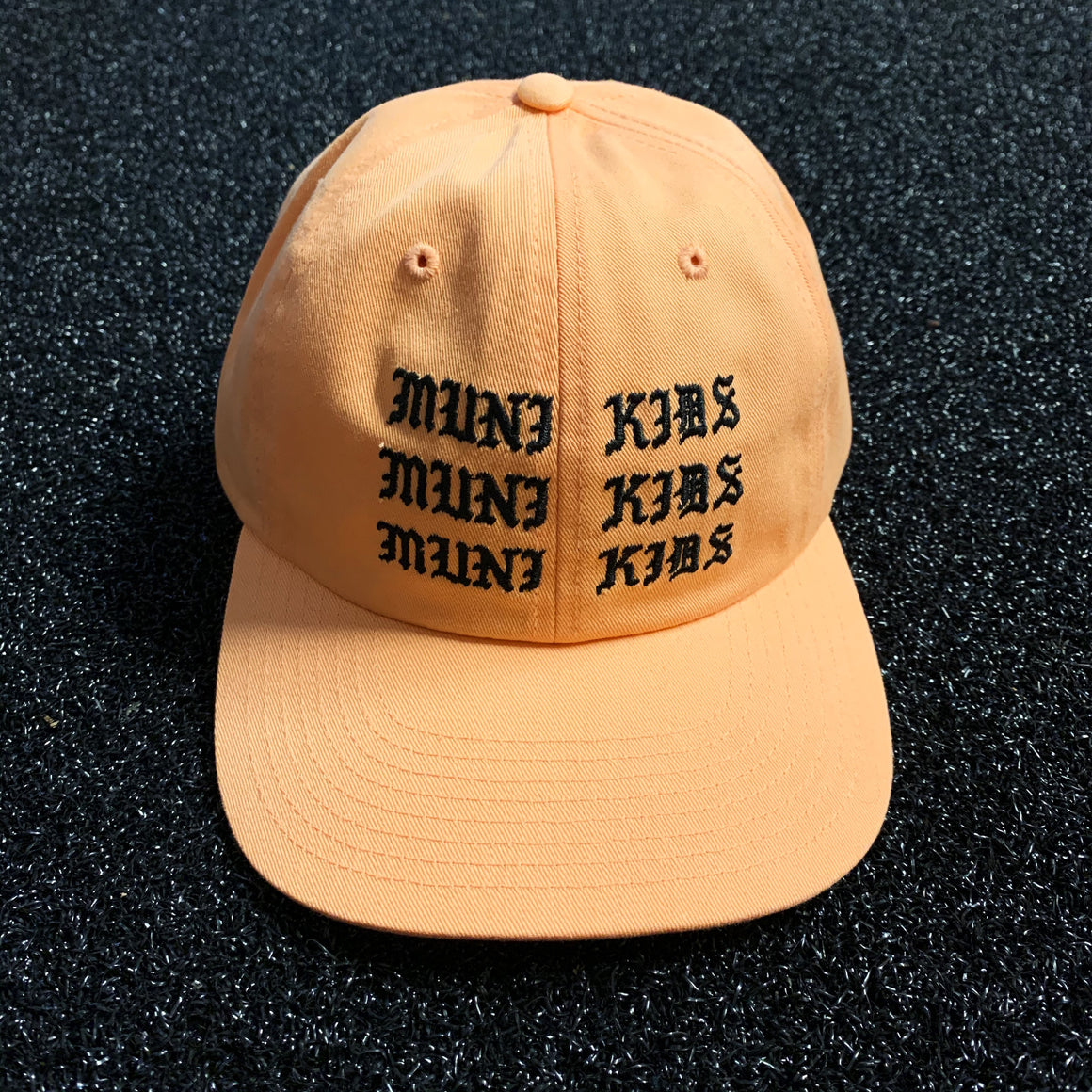 Propaganda Dad Hat (Peach) | Muni Kids®
