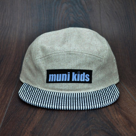 Seersucker 5-Panel - Muni Kids™