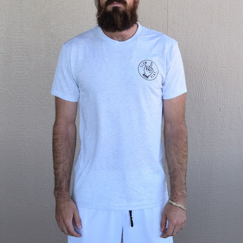Slow Play Tee (Heather White) - Muni Kids®