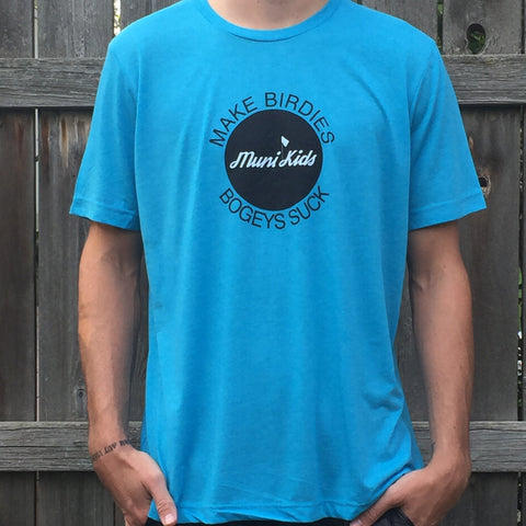 Motto Tee (Teal) - Muni Kids®