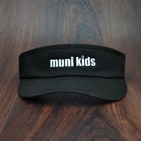 Tour Visor (Black) - Muni Kids®