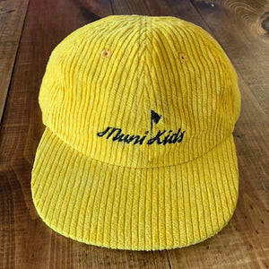 Muni Kids Corduroy 6-Panel Hat (ONLY 10 MADE) | Muni Kids®