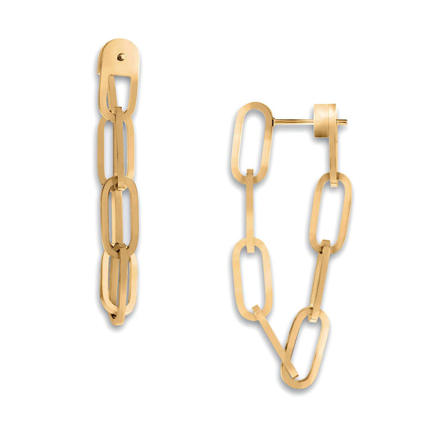 Ellie Vail - Everly Drop Chain Earring